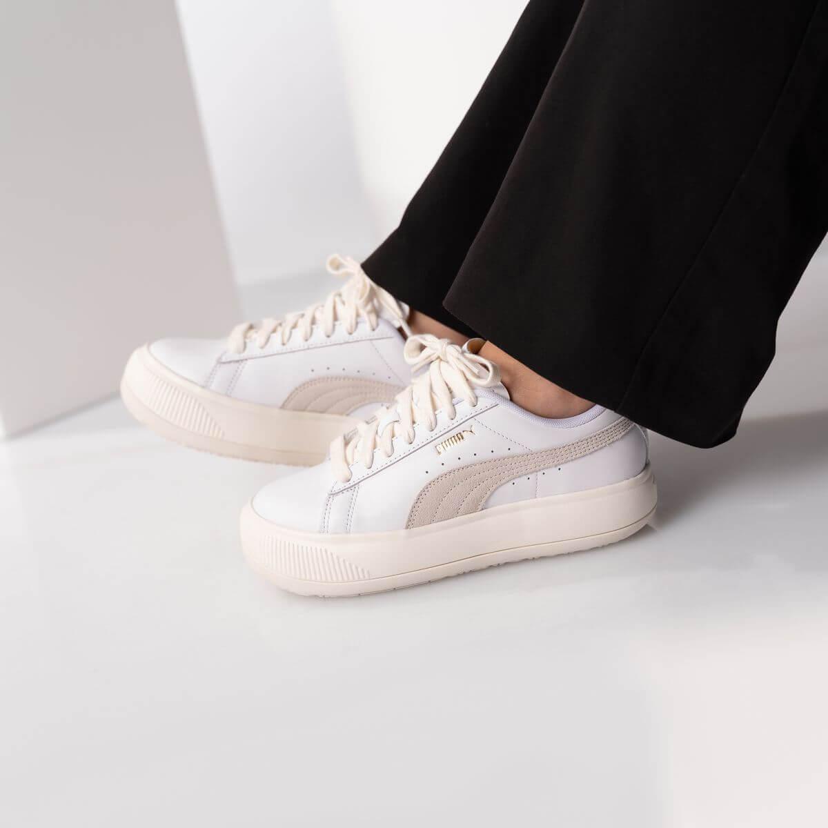 PUMA- Suede Mayu - white/marshmallow - 381042 01