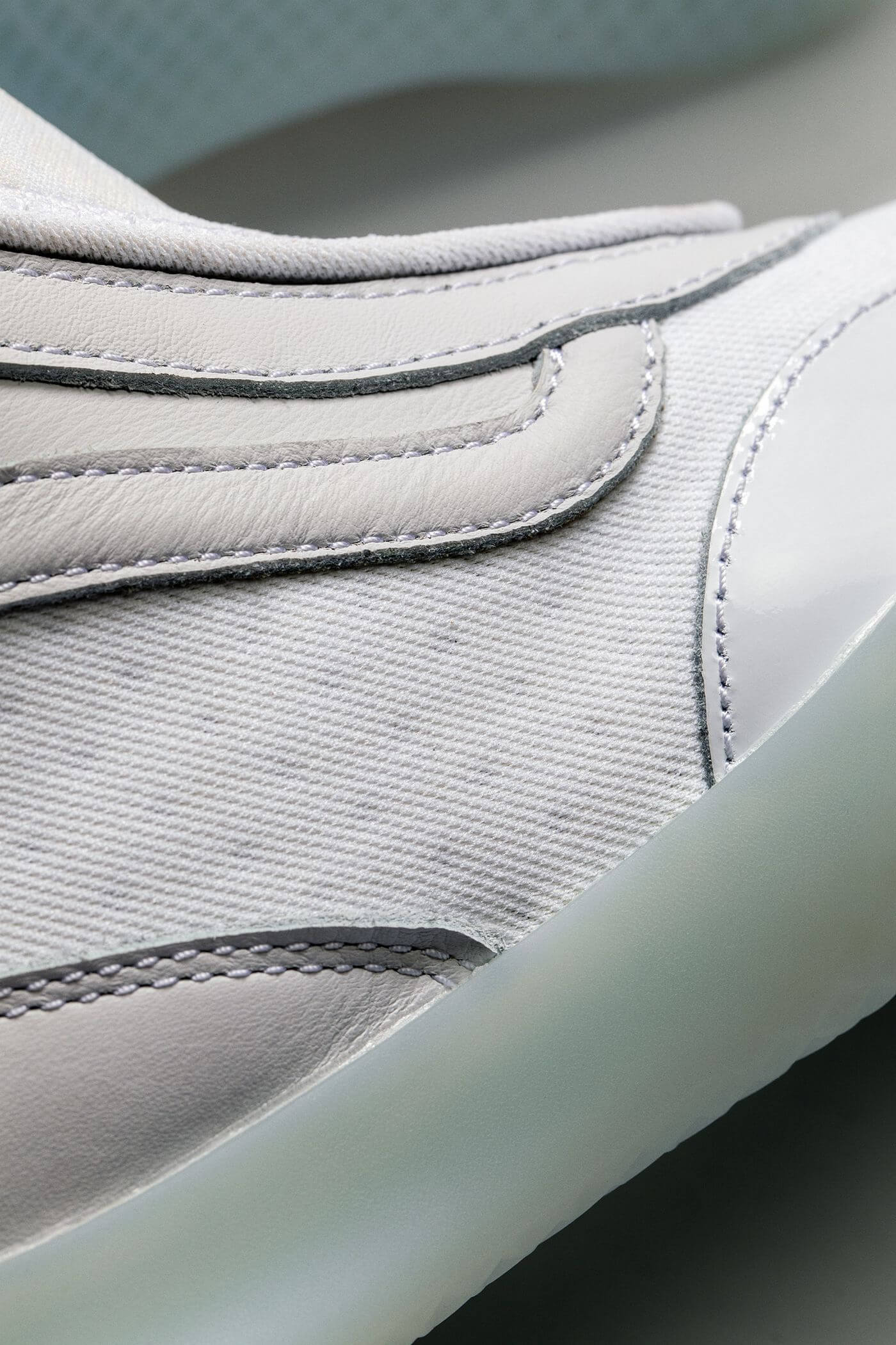 details of the Vault by Vans - Boot Skoot LX - white/white