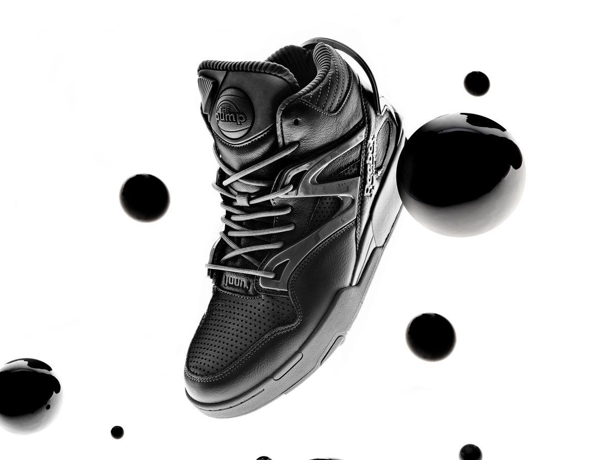 Reebok x JUUN.J Pump Omni Zone II - black/cold grey 7/cold grey - GW8004