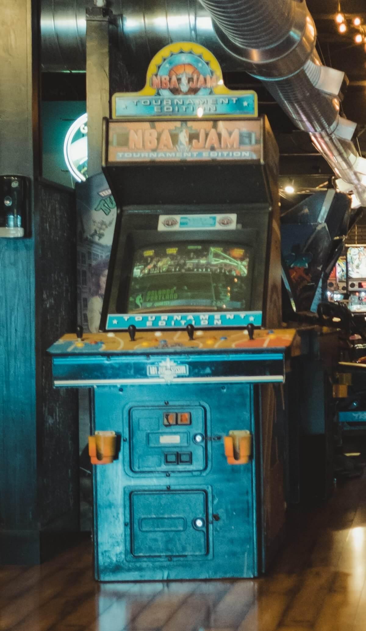 NBA Jam Tournament Edition - Spielhalle Arcade