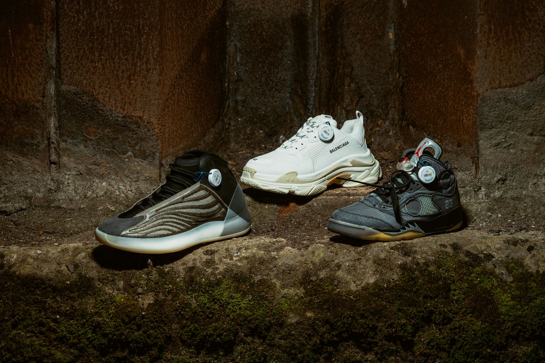 adidas Yeezy QNTM Basketball /Balenciaga Triple S / Nike Air Jordan 5 Retro Off-White