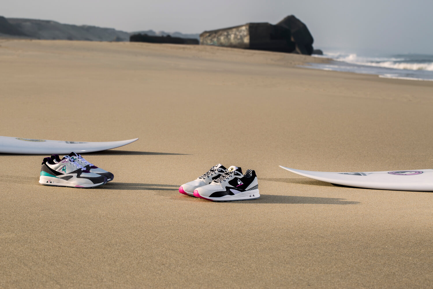 Le Coq Sportif x Town&Country Surf Designs LCSR800 sneaker release pack