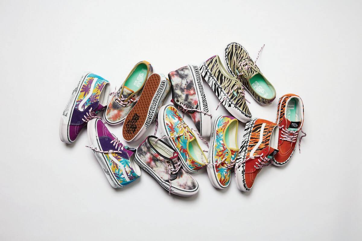 """Vault by Vans x Aries - FW21 - """"Art Trip"""" sneaker collection"""