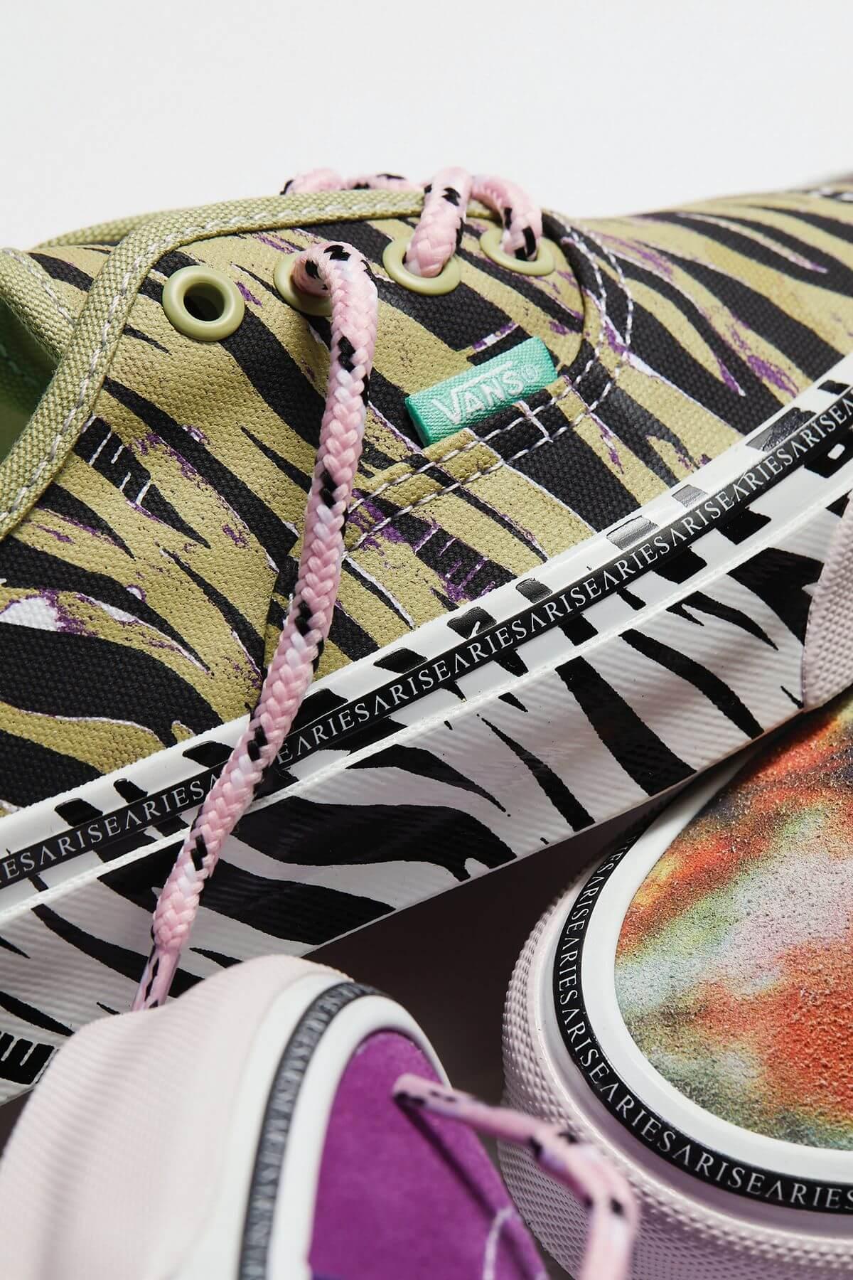 Vault by Vans x Aries - FW21 - sneaker collection details