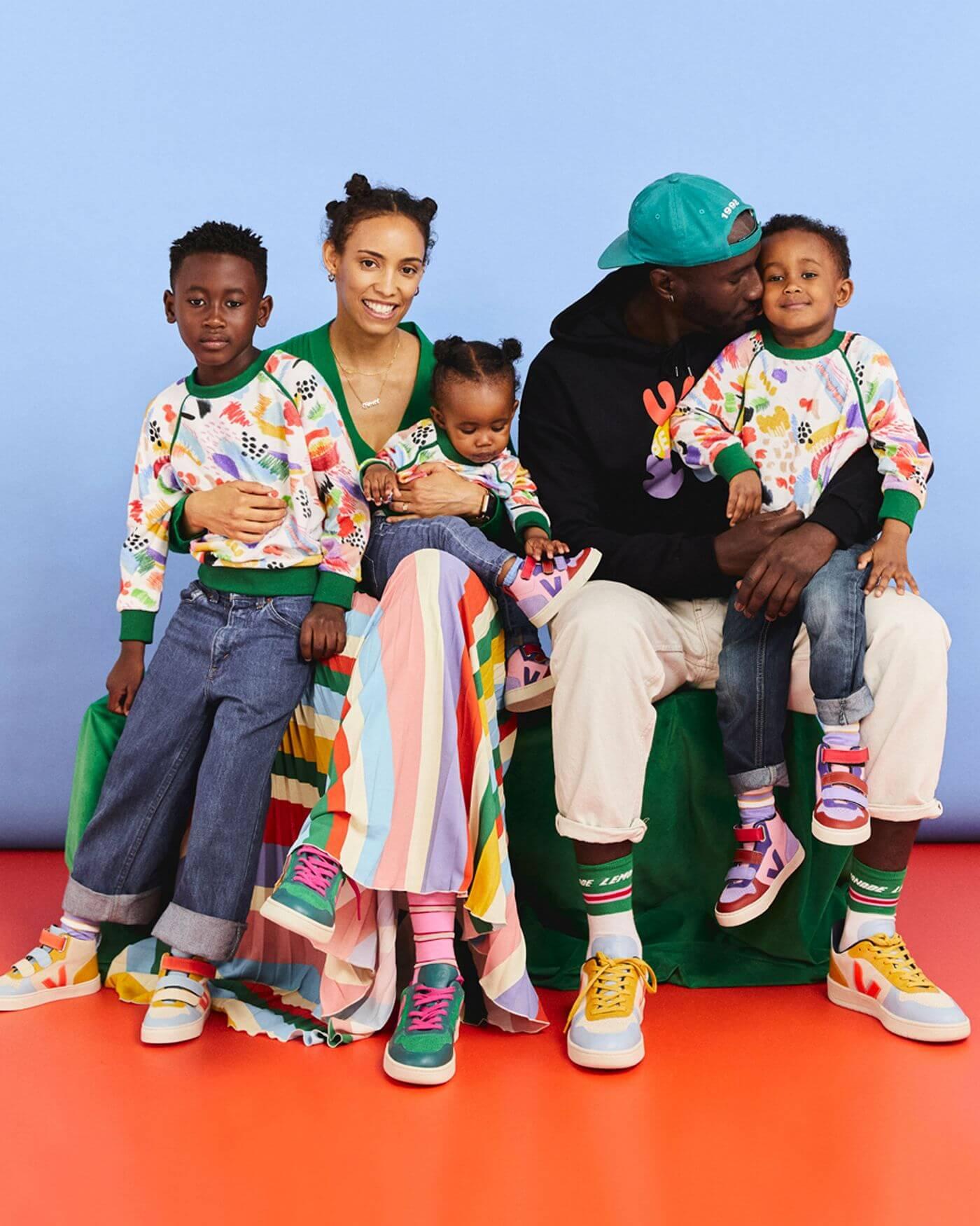 VEJAx Make My Lemonade - V-10 - Bunte Sneaker für Kinder und Erwachsene