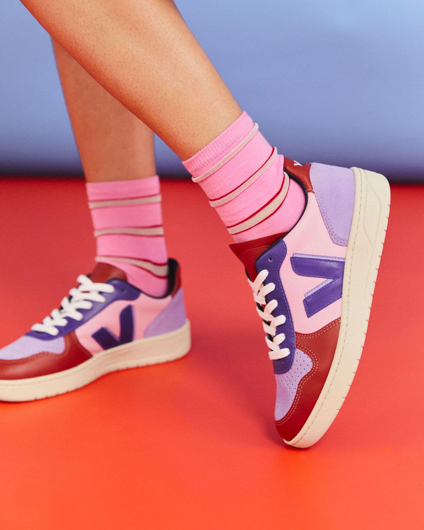 on feet - VEJAx Make My Lemonade - V-10 - Guimauve - VV022757
