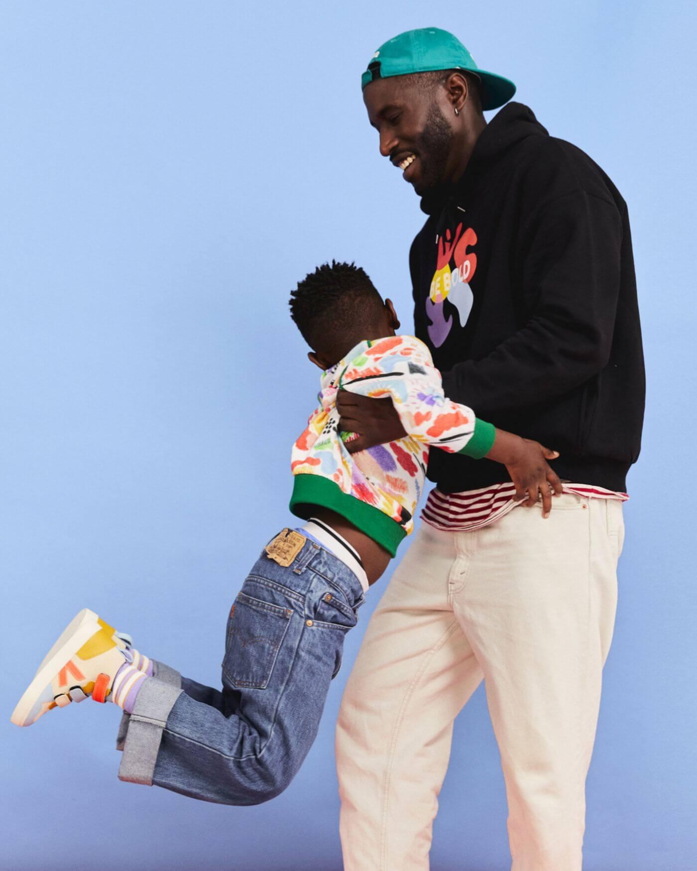 Nachhaltige Kinder Sneaker - VEJAx Make My Lemonade - V-10 Klettverschluss - sneaker collection