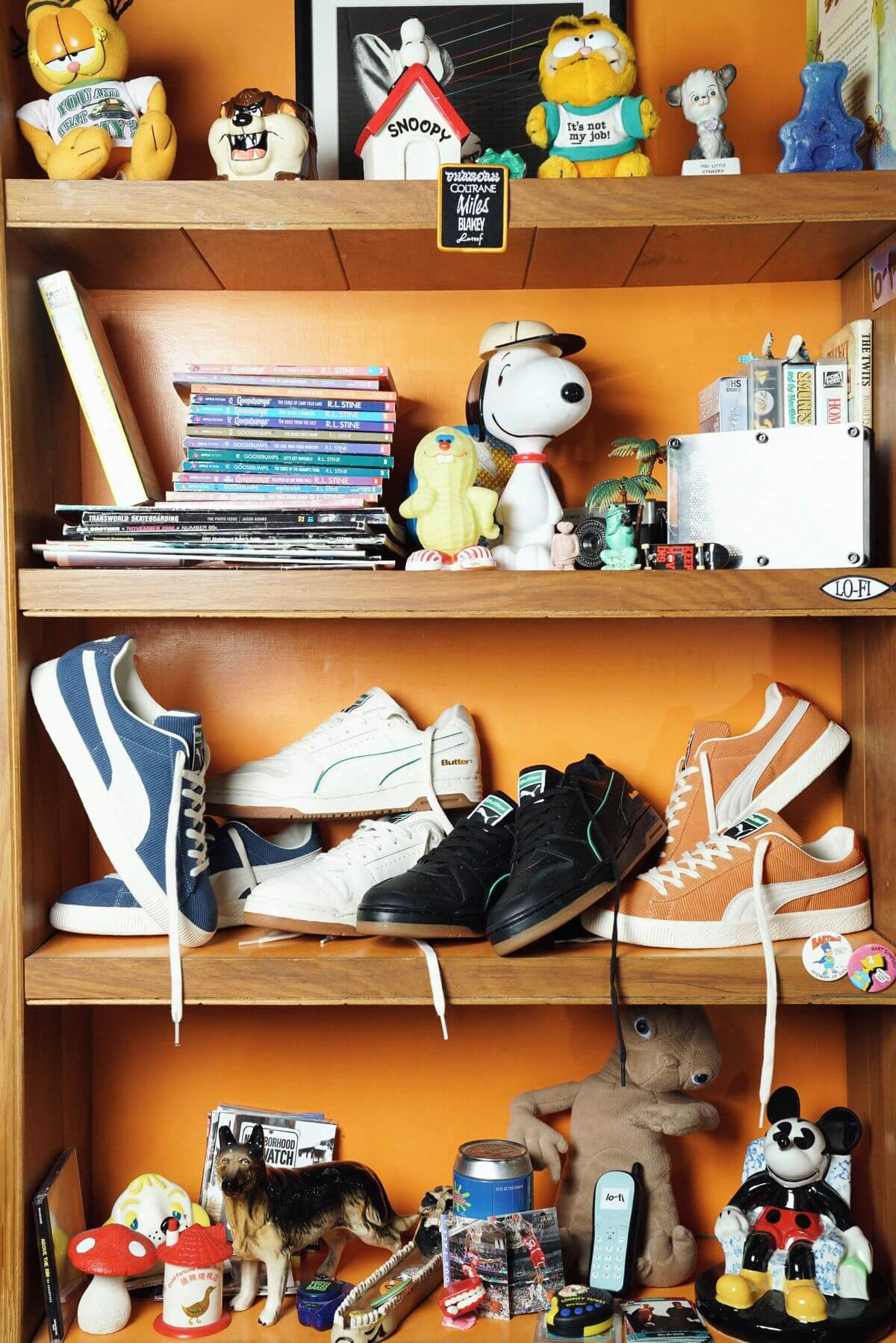 PUMA x Butter Goods - Basket Vintage Slipstream sneaker collection
