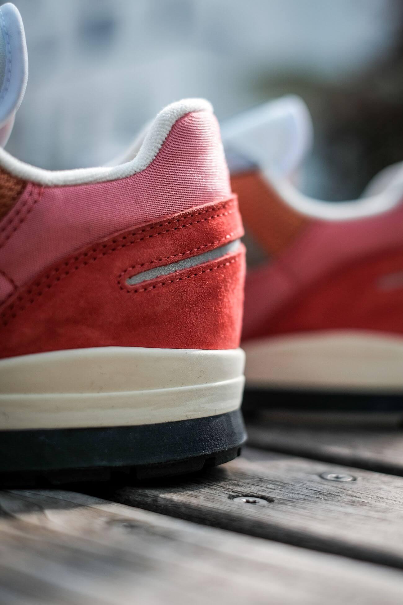 details der ferse - adidas - ZX 420 - crew red/ambient blush/cream white - H02128