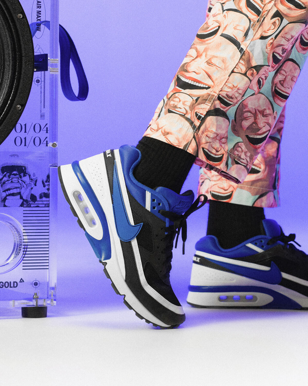 Nike - Air Max BW OG 2021 - Black/Persian Violet-White - DJ6124-001