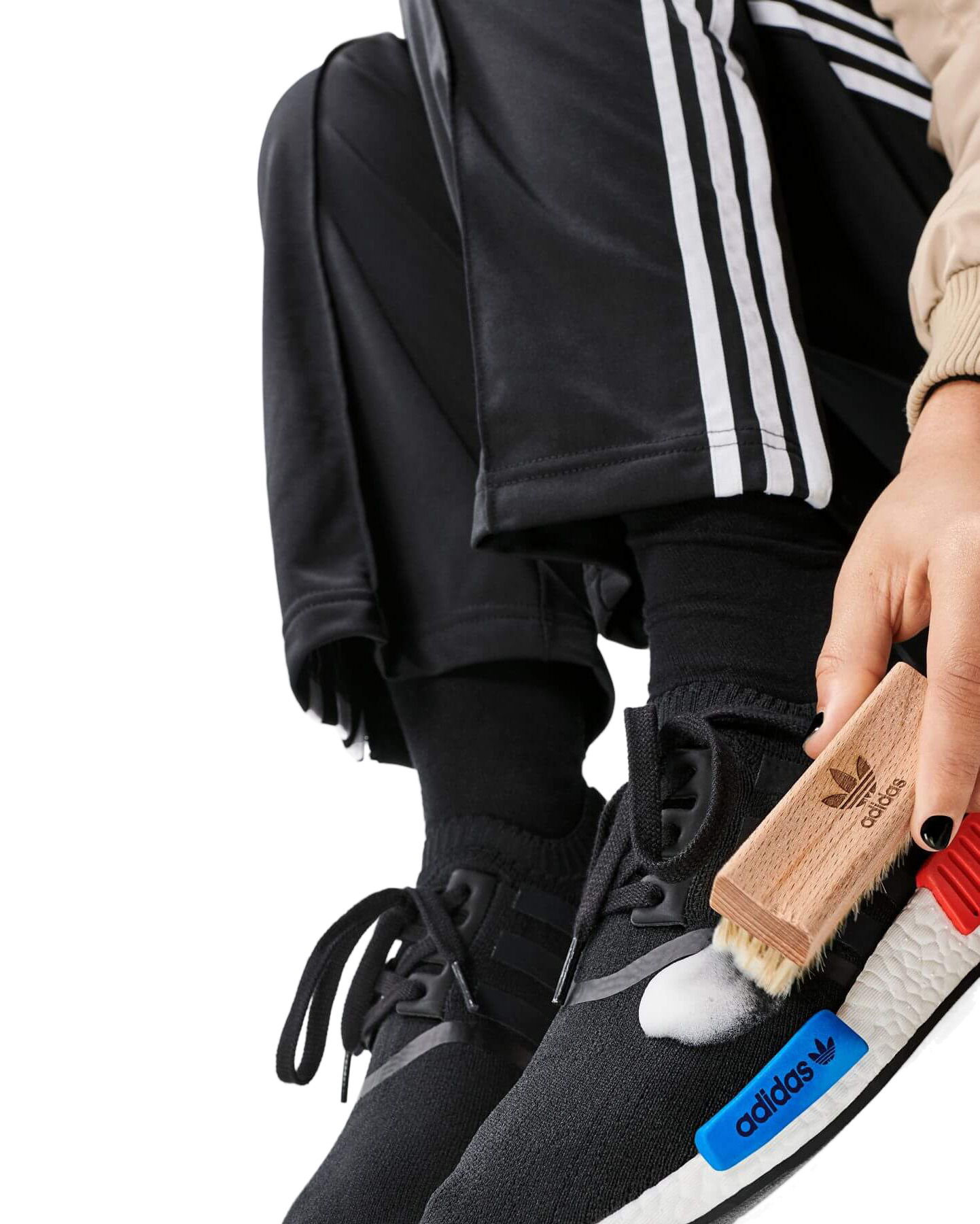 adidas NMD Boost Reinigung - adidas Shoe Care - Sneaker Foam Cleaner