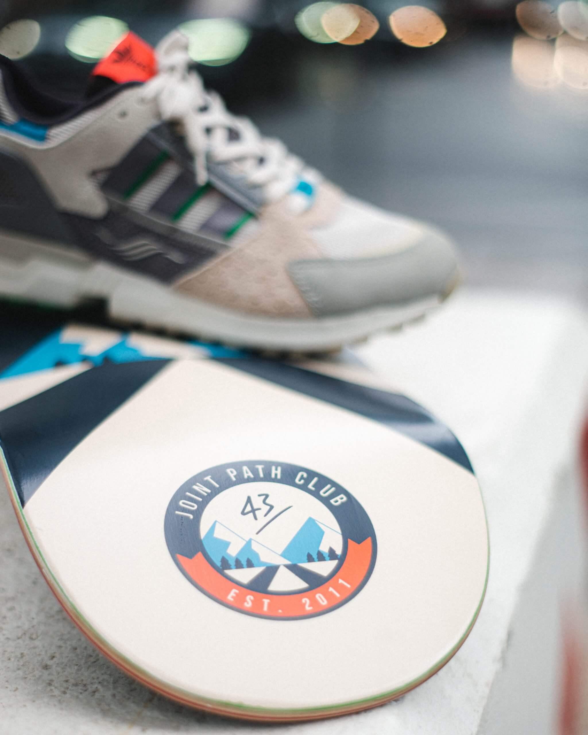 "43einhalb x Dead Stock Sneakerblog /""Joint Path"" Skatedeck"
