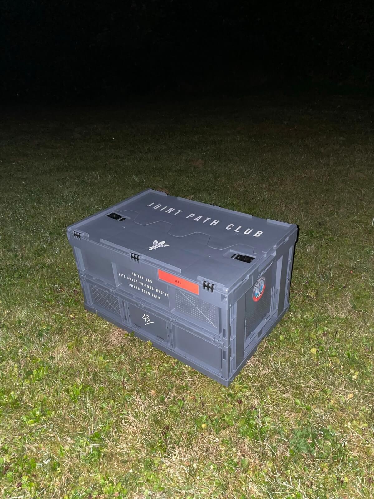 "adidas x 43einhalb ZX10000""Joint Path"" Special-Box"