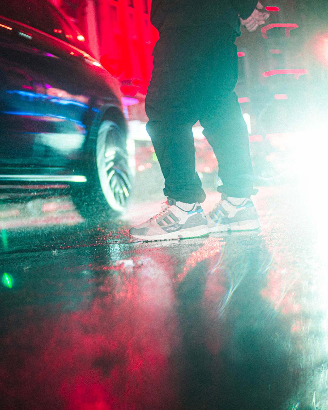 "on feet - adidas x 43einhalb - ZX10000- ""Joint Path"" - cbrown/owhite/clback - GY5108"