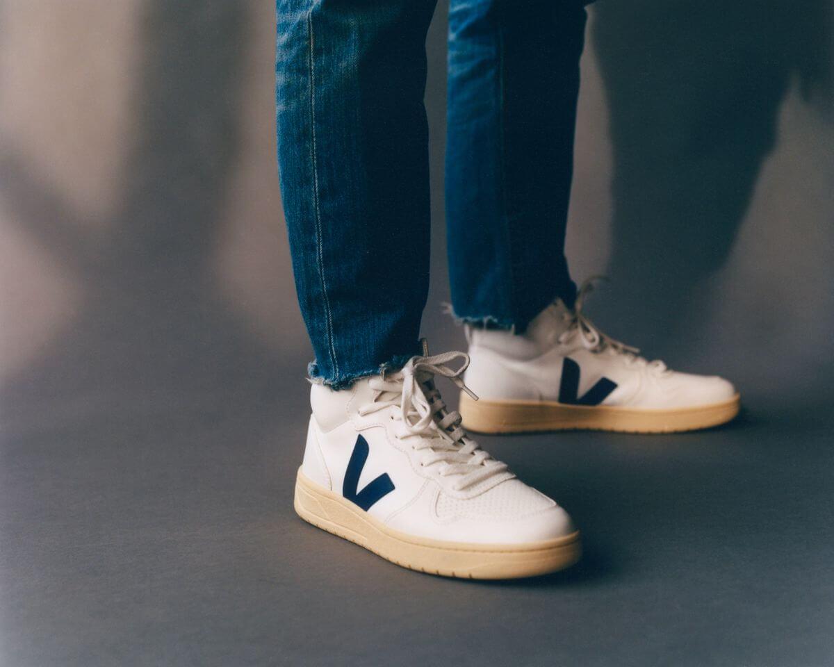 on feet - VEJA- V-15 CWL - white cobalt - Butter-Sole