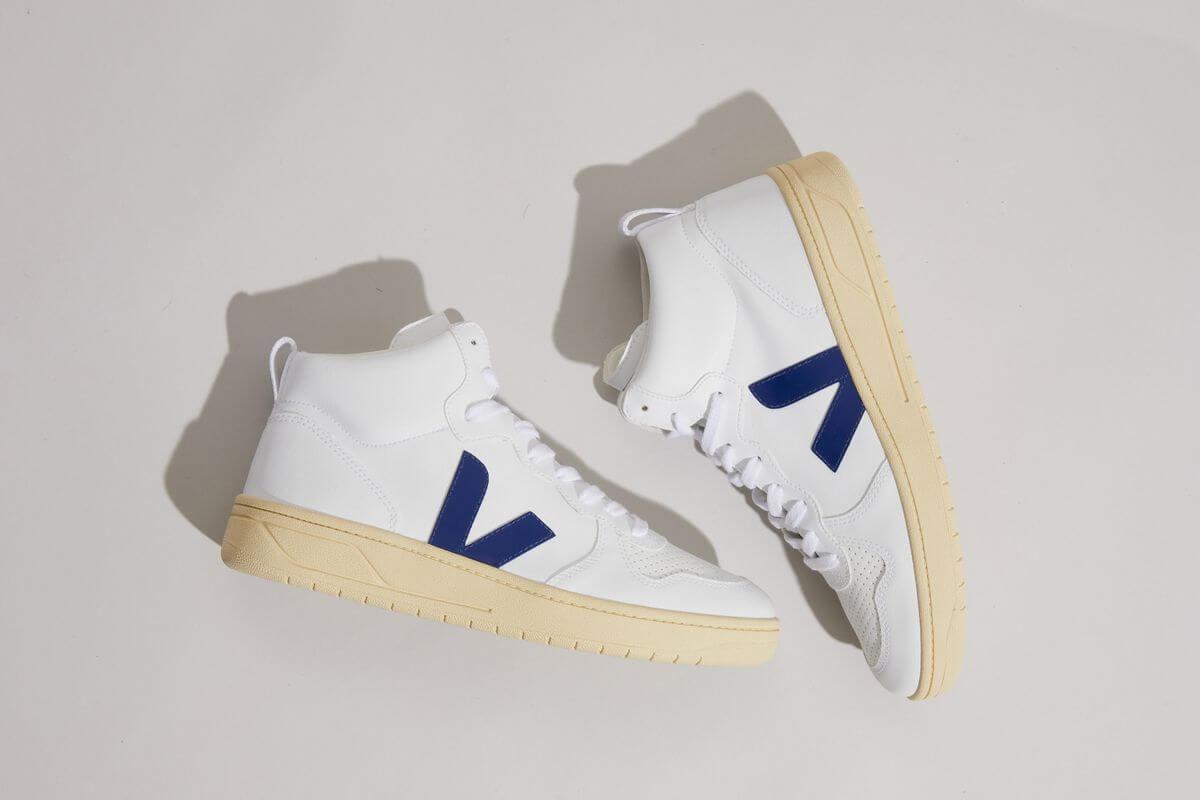 VEJA- V-15 CWL - white cobalt - Butter-Sole