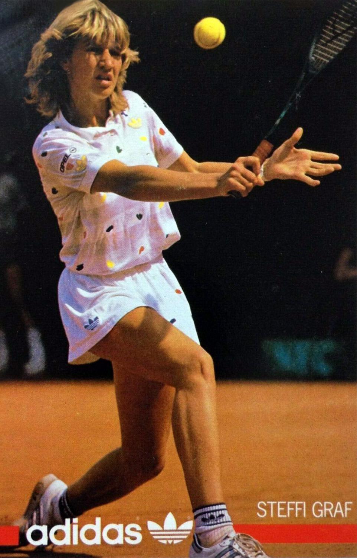 Steffi Graf - adidas Werbung aus den 80er Jahren