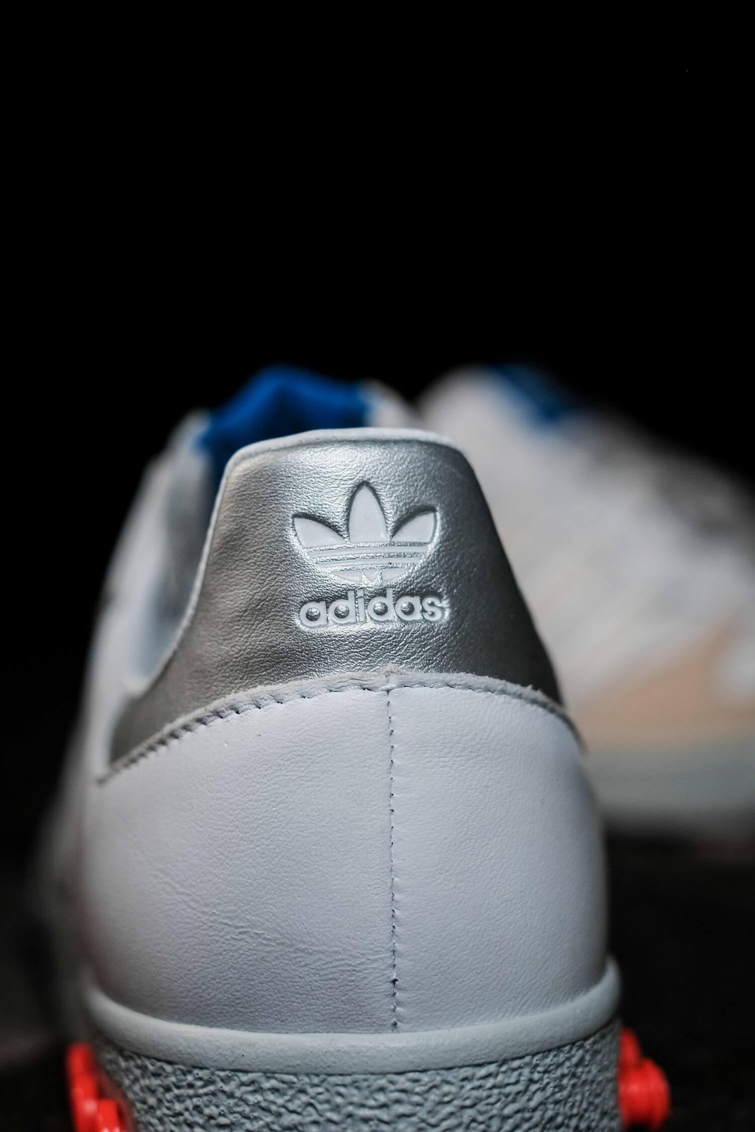 adidas - G.S. - cloud white/silver metallic/wonder white- H01818
