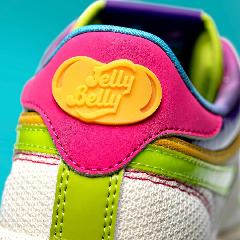 jelly belly logo on heel - Reebok x Jelly Belly - Club C Revenge - cream white/sonic green/radiant aqua - GV8263