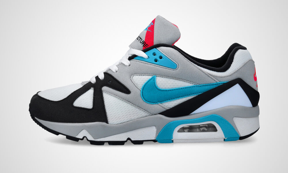 Nike Air Structure Triax OG - white/neo teal - CV3492-100