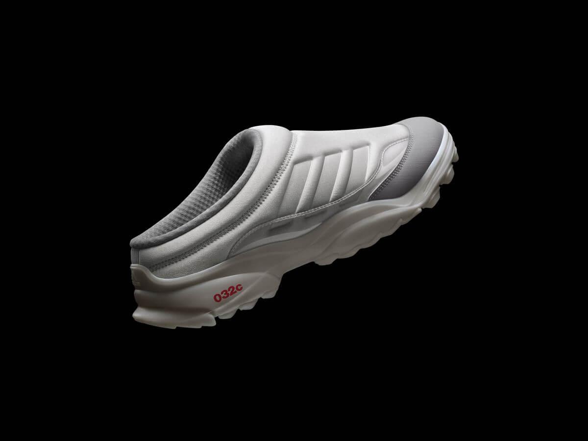 adidas x 032c - GSG Mule - grey one/midnight solid grey/solar blue - GW0249