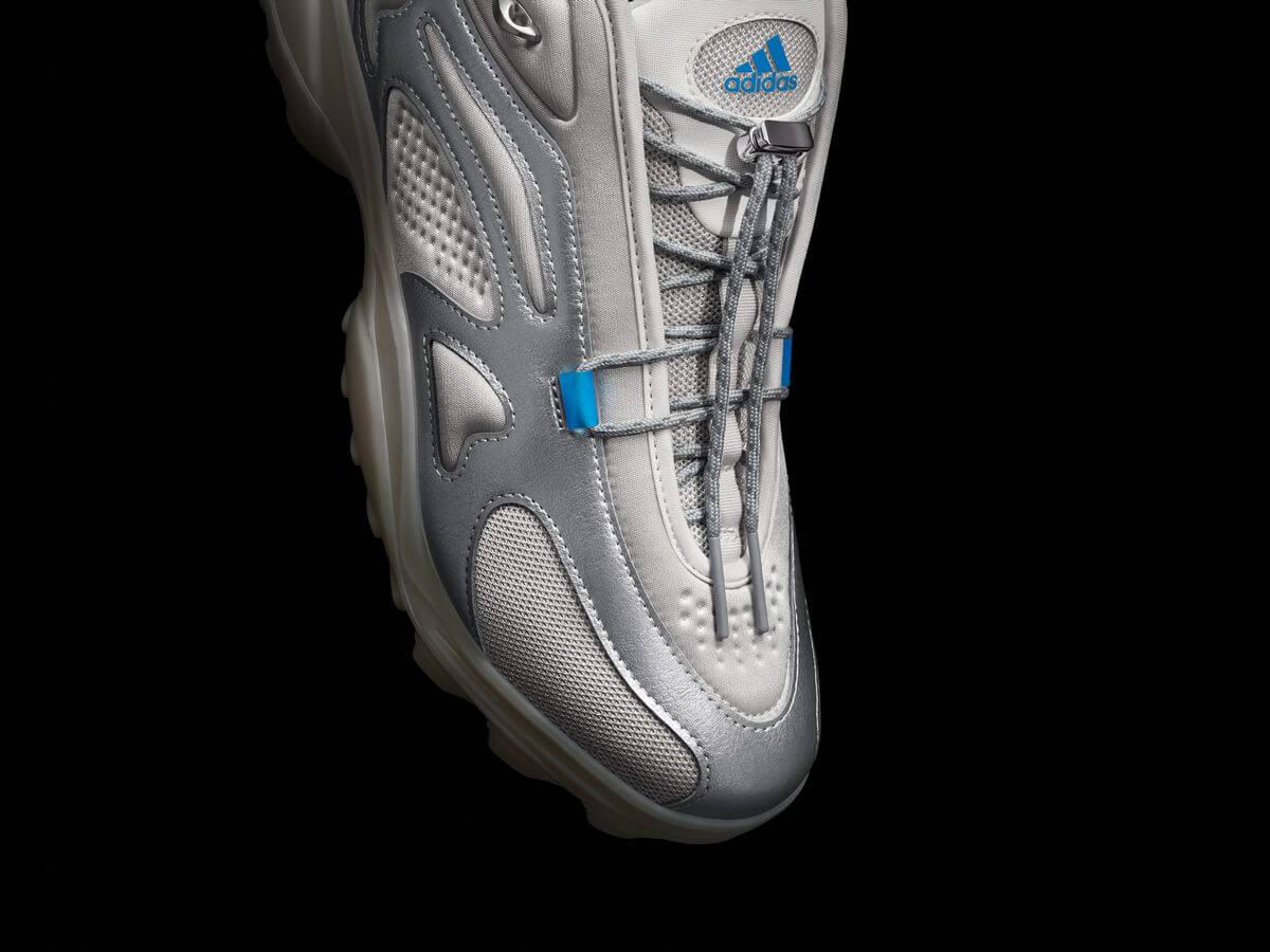 adidas x 032c - GSG TR - grey one/midnight solid grey/solar blue - GW0262