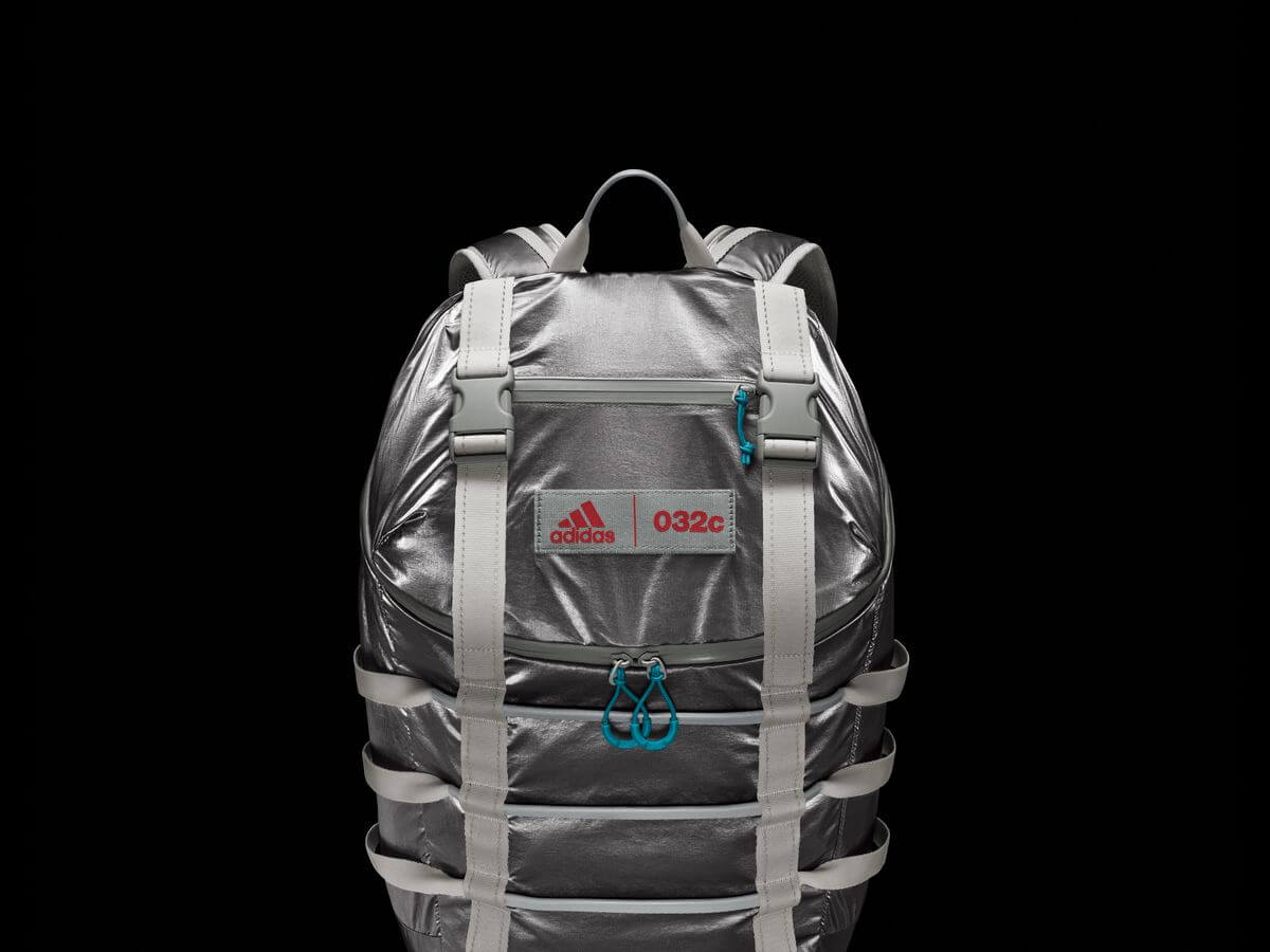 adidas x 032c - Backpack - carbon - H62025