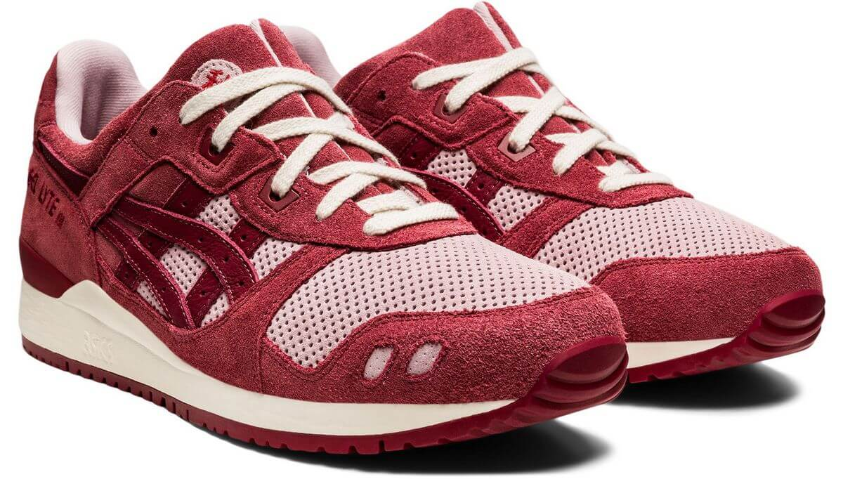 """ASICSSportStyle - Gel-Lyte III- """"Changing Seasons"""" - watershed rose/beet red - 1201A296-700"""