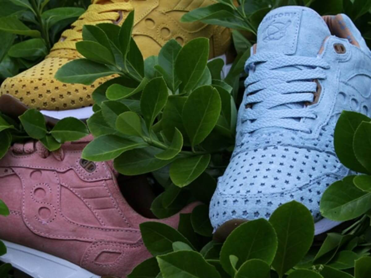 """Saucony x Play Cloths - Shadow 5000 - """"Cotton Candy""""- coral almond & dream blue - 70119-2 & 70119-3"""