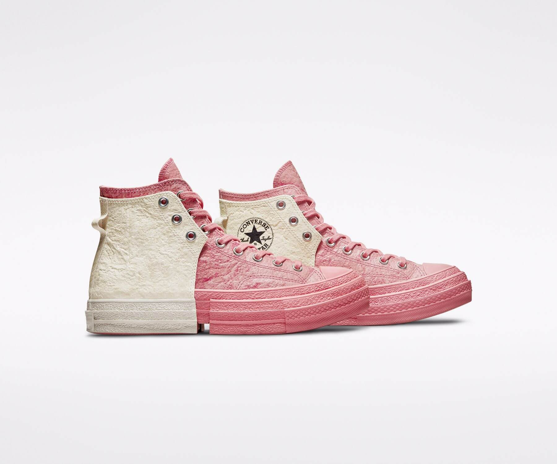 Converse x Feng Chen Wang - 2-in-1 Chuck 70 - pink/white - 171837C