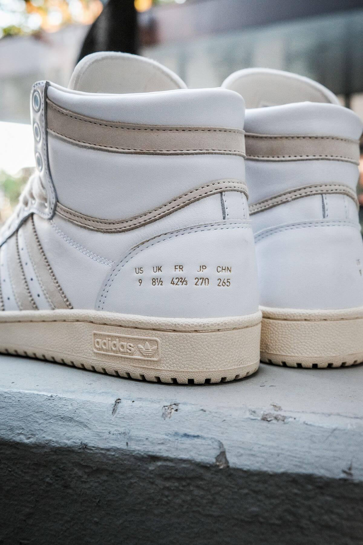 "adidas - Top Ten - ""Home Of Classics""- footwear white/chalk white/blue birch - GZ8941"