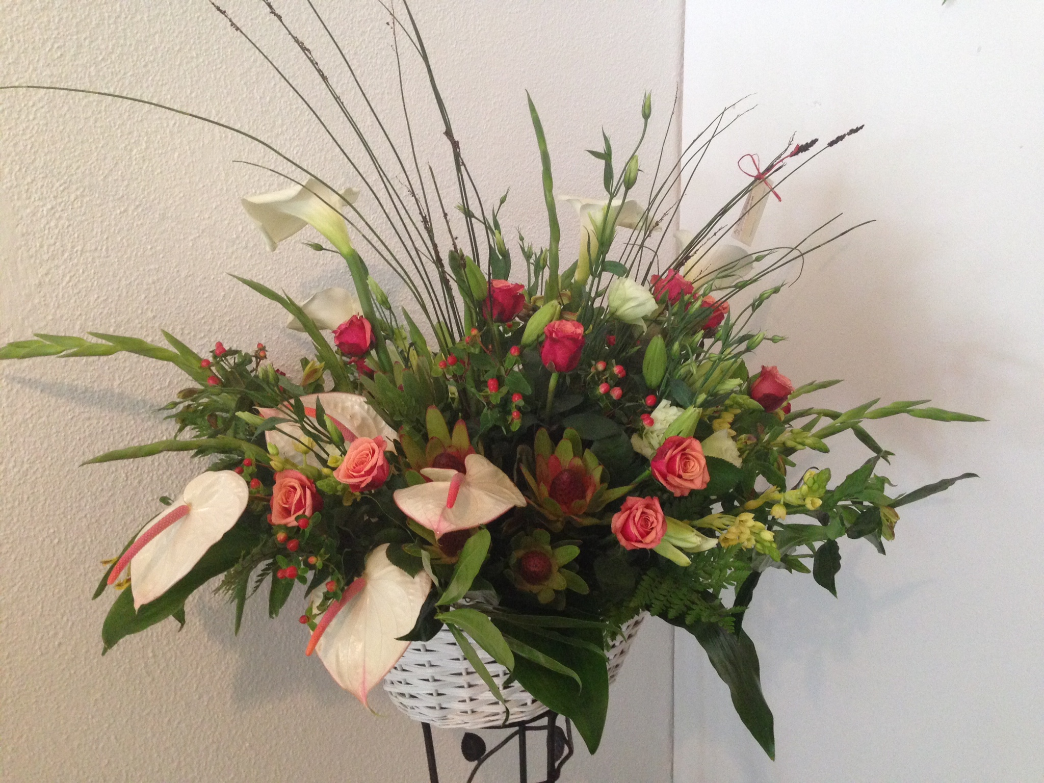 Flower Basket country styled