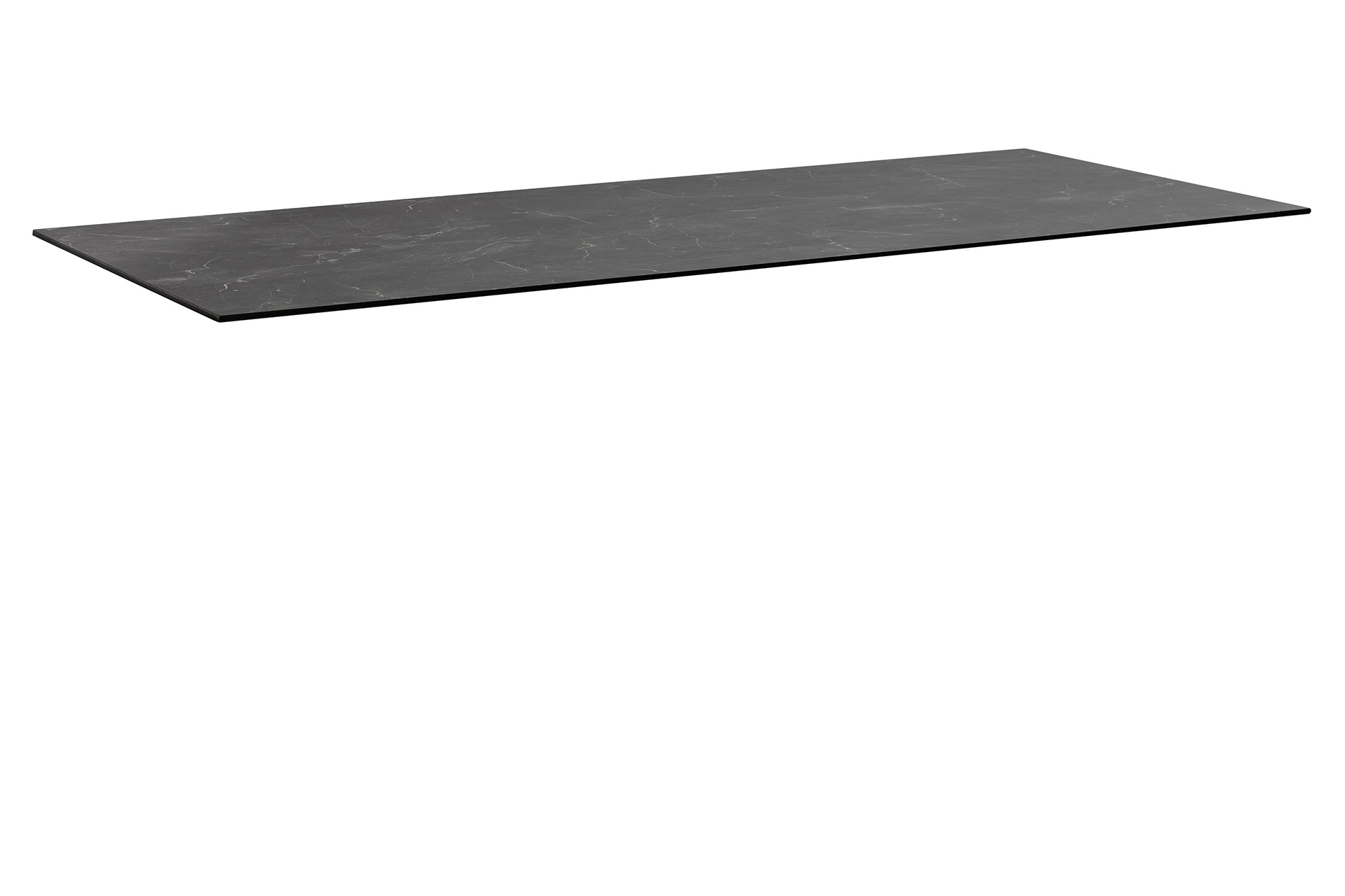 HPL Tischplatte 220 x 95 x 1,3 cm, Wing-Profil