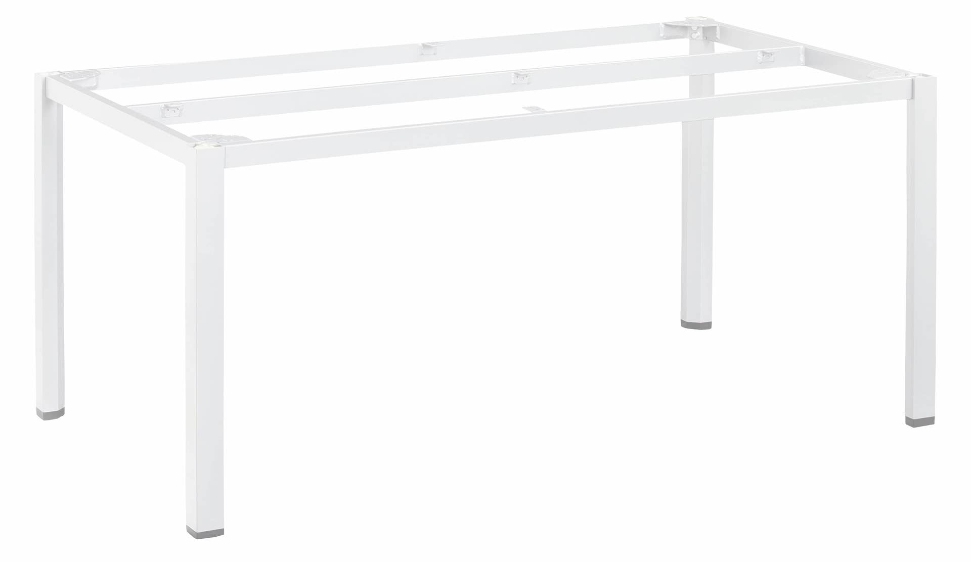 CUBIC Aluminium Tischgestell 160 x 95 x 72 cm