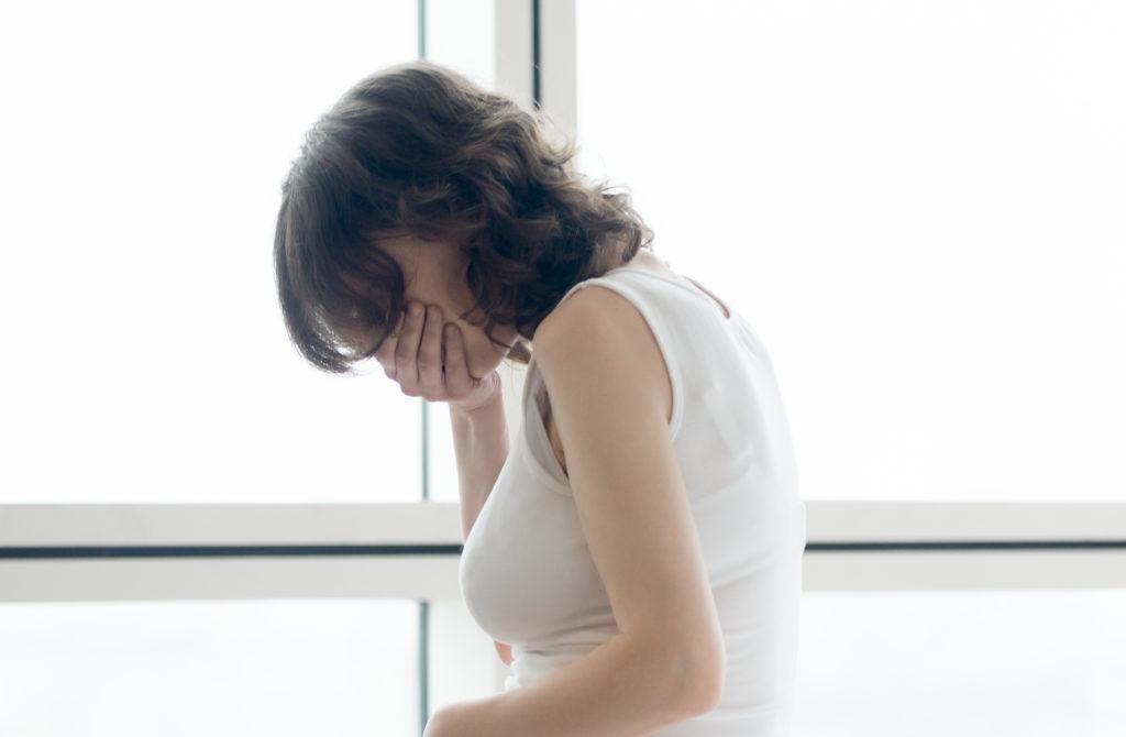 nauseous sinus headache