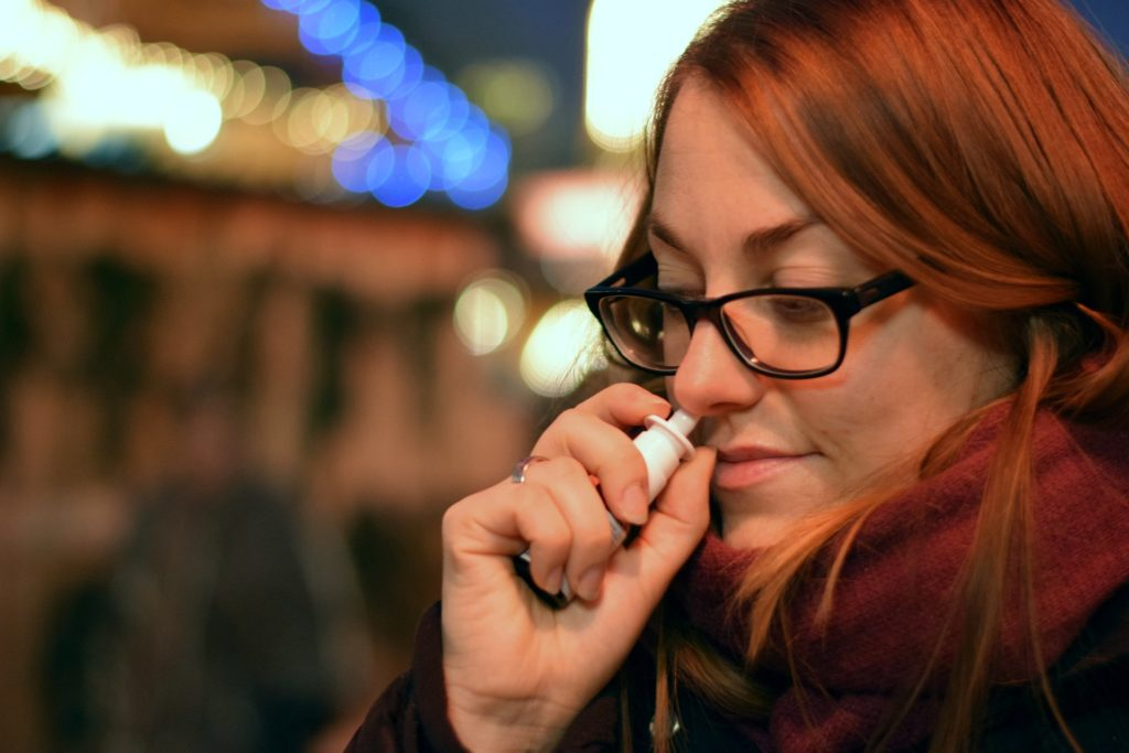 nasal spray sinus infections