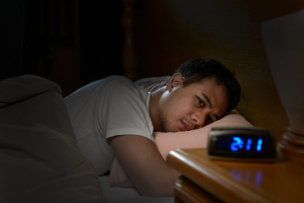 insomnia caused by chronic sinusitis
