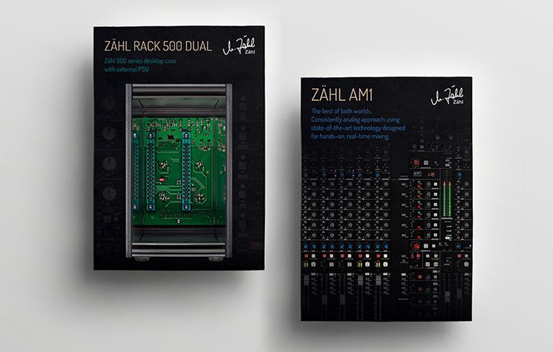 Zähl - Produktflyer Rack 500 Dual und AM1