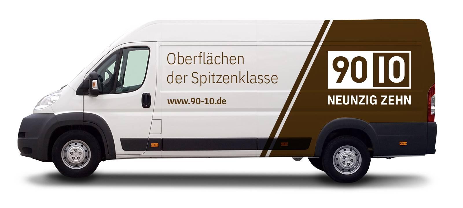 Fahrzeugbeklebung Lieferwagen 90.10