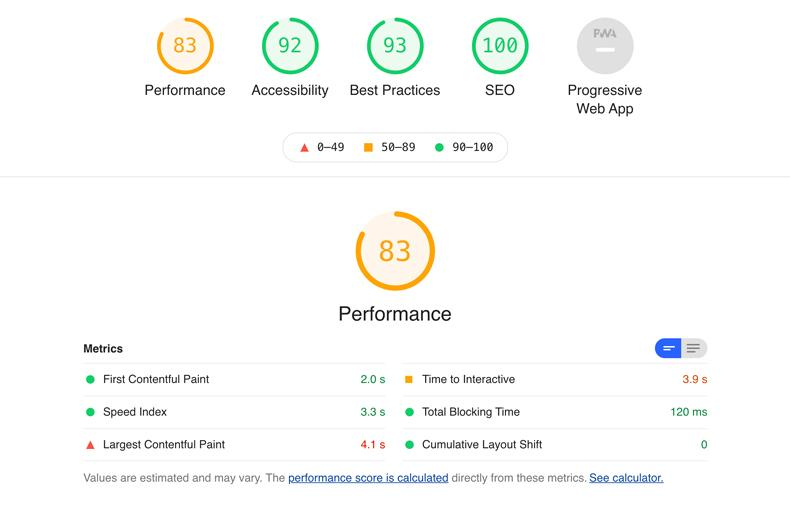 Google Page Speed Optimierung