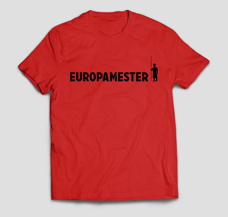 Europamester T-Shirt