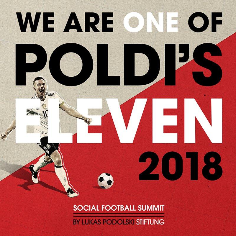 Social Media Post - Poldi's Eleven