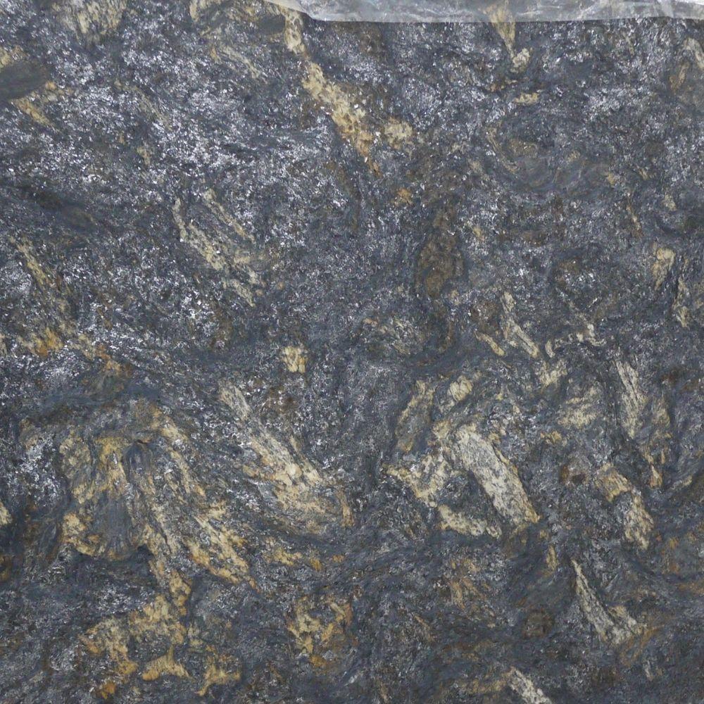 Black Saturnia Leather 3cm