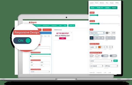 responsive mobile form builder