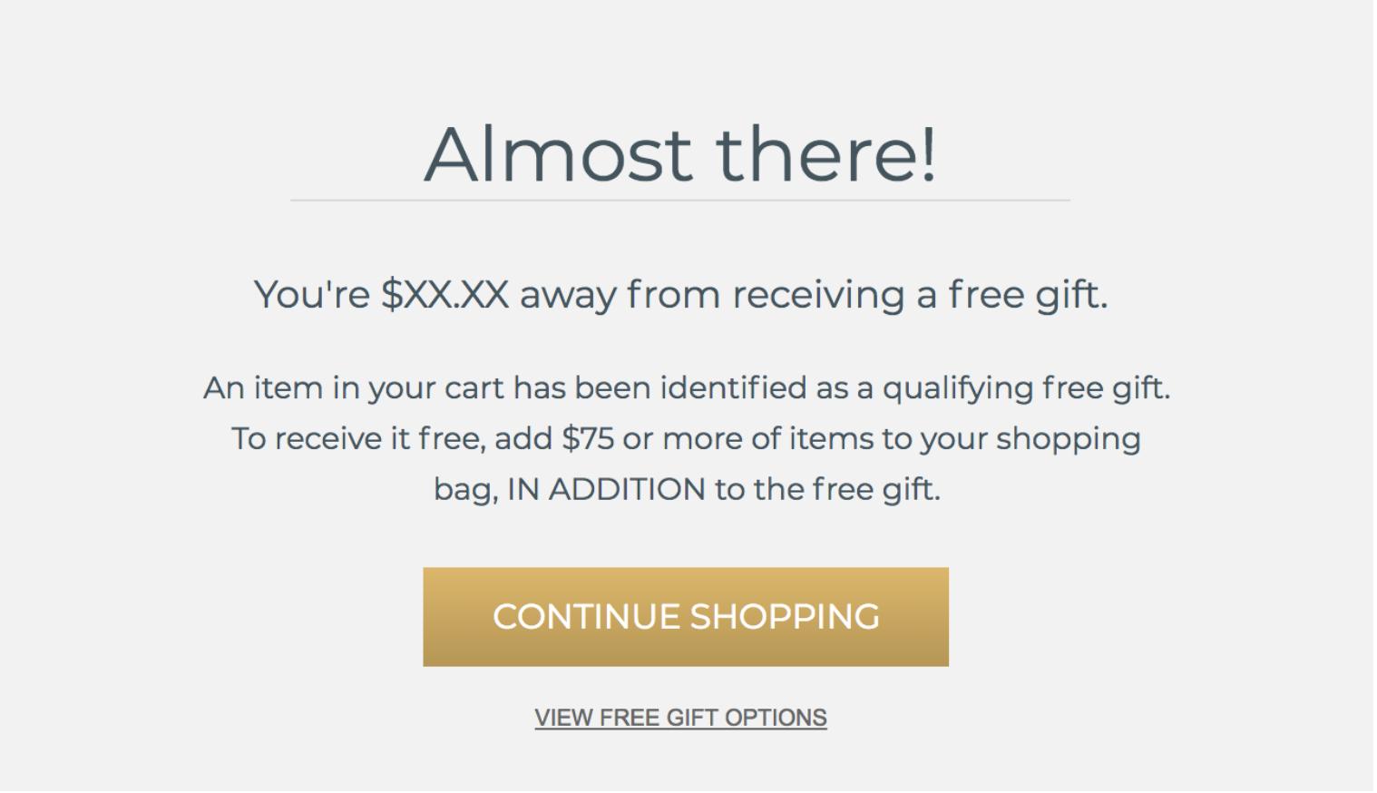 ecommerce free shipping threshold