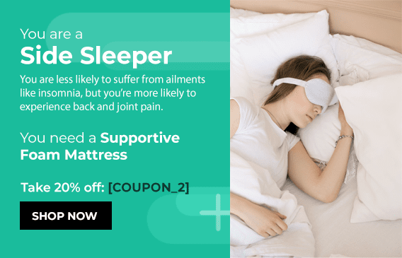 mattress product recommendation quiz results example