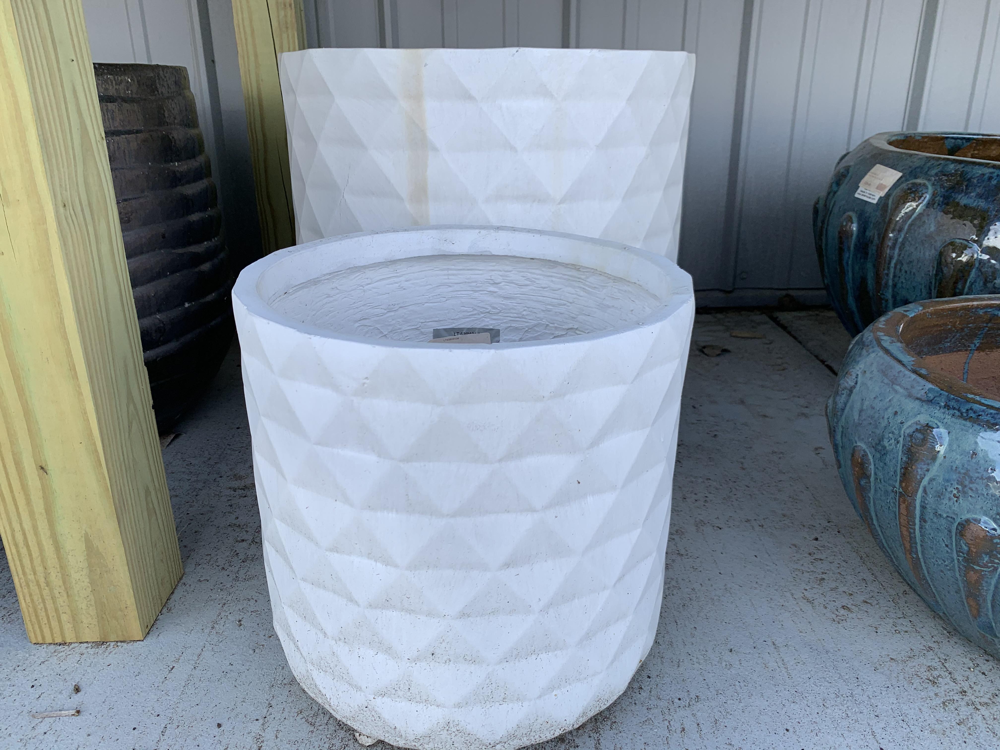 Fiber Clay Planters