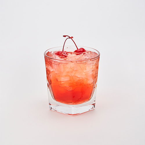 Jack Daniels Fire Whiskey, Cranberry juice & Sprite
