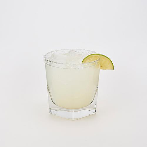 1800 Cuervo Tequila & Cointreau Orange Liqueur with fresh lime juice (salt or no salt rim