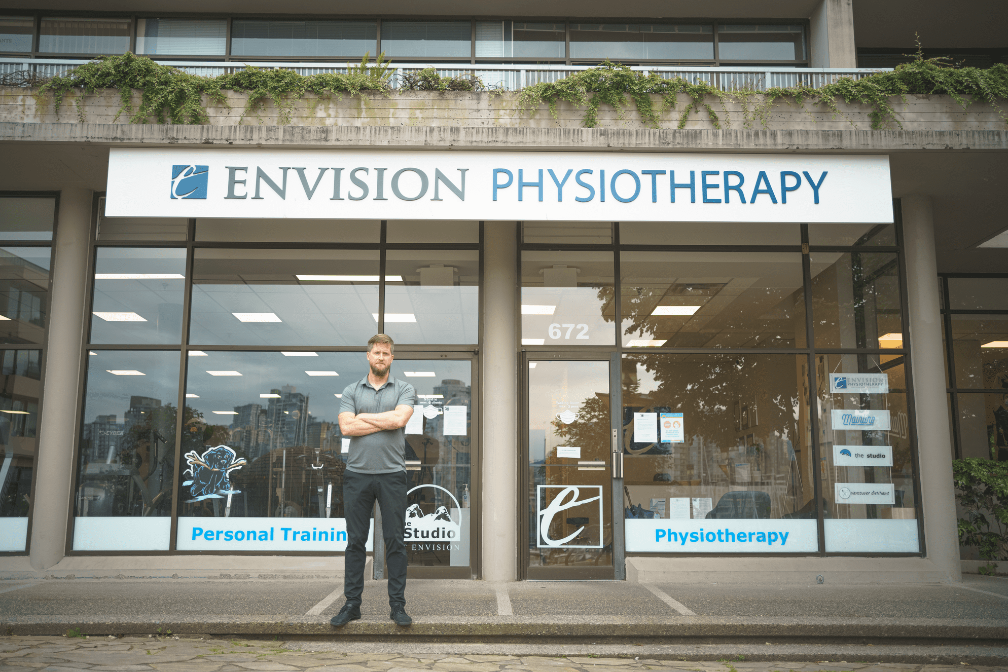 Envision Physio Office Entrance